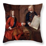 John Churchill (1650-1722) Throw Pillow