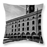 St Katherines Dock London Throw Pillow