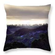 Tuscany - Val D'orcia Throw Pillow