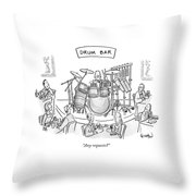 Any Requests? Throw Pillow