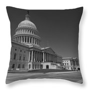 Us Capitol Building Throw Pillow