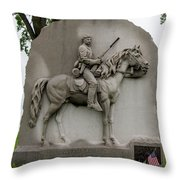 17th Pennsylvania Cavalry Throw Pillow