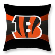 Cincinnati Bengals Throw Pillow