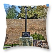 Fortress Kalemegdan Belgrade Throw Pillow