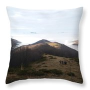 1800 Meters Throw Pillow