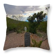 1800s Nothing Was Politically Correct Throw Pillow