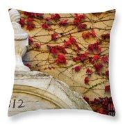 1812 Fountain Throw Pillow