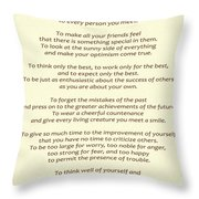 182- Promise Yourself Throw Pillow