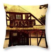 1839 Throw Pillow