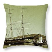 1886 Balclutha Throw Pillow