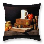 1886 Throw Pillow