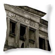 1891 Throw Pillow