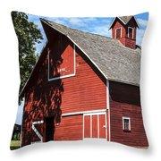 1896 Barn Throw Pillow