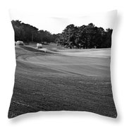 18th Green Throw Pillow