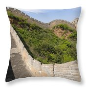 Great Wall Of China Throw Pillow