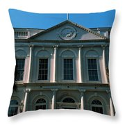 Low Angle View Of A Government Throw Pillow
