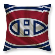 Montreal Canadiens Throw Pillow