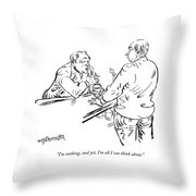I'm Nothing Throw Pillow