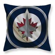 Winnipeg Jets Throw Pillow