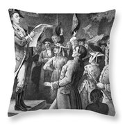 Yorktown: Surrender, 1781 Throw Pillow