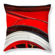 1903 Pope Hartford B Wheel Abstract Throw Pillow