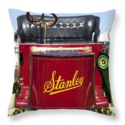 1905 Stanley Model E Throw Pillow