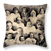1907 - Mellins Baby Food Advertisement Throw Pillow