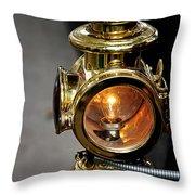 1907 Stanley Steamer - Sidelight Throw Pillow