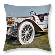 1910 Franklin Type H Touring Throw Pillow by Marcia Colelli