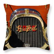 1910 Pope Hartford Model T Grille Emblem Throw Pillow