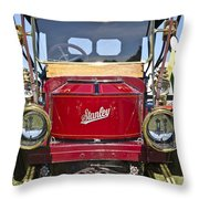 1910 Stanley Model 70 Throw Pillow
