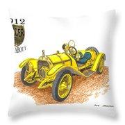 1911 1912 Mercer Raceabout R 35 Throw Pillow