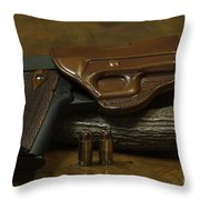 1911 Concealed Carry Throw Pillow