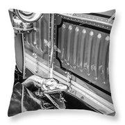 1912 Rolls-royce Silver Ghost Rothchild Et Fils Style Limousine Snake Horn -0711bw Throw Pillow