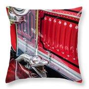 1912 Rolls-royce Silver Ghost Rothchild Et Fils Style Limousine Snake Horn -0711c Throw Pillow