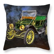 Stanley Steamer Throw Pillow