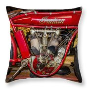1915 Indian Model D1 Throw Pillow