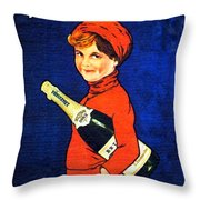 1920 - Freixenet Wines - Advertisement Poster - Color Throw Pillow