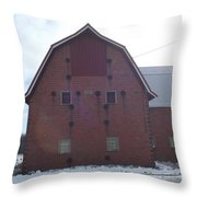 1920 Barn Throw Pillow