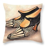Deco Darlings Throw Pillow