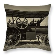 1921 Aultman Taylor Tractor Throw Pillow