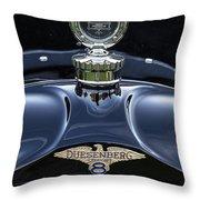 1921 Duesenberg Throw Pillow