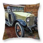 1921 Hudson-featured In Vehicle Enthusiasts And Comfortable Art And Photography And Textures Groups Throw Pillow