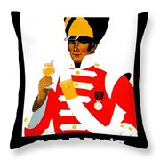 1924 - Gilbey Spey-royal Whisky Advertisement - Color Throw Pillow
