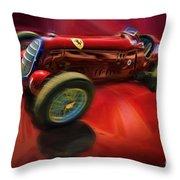 1926 Delage Grand Prix Car  Alfa-romeo  Throw Pillow