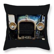 1926 Dodge In Astoria Oregon Throw Pillow