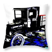 1926 Ford Model T Stakebed Throw Pillow