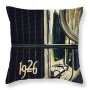 1926 Throw Pillow