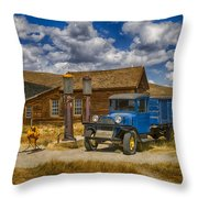 1927 Dodge Braham Bodie Ca Color Img 7299 Throw Pillow