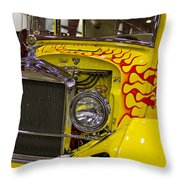 1927 Ford-front View Throw Pillow